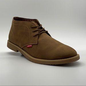 New Levi's Men's Sonoma Wax Chukka Boots Size 10